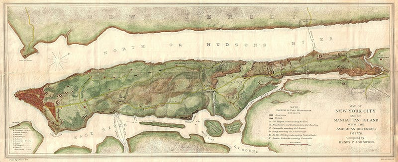Watch Manhattan's Boundaries Expand Over 250 Years