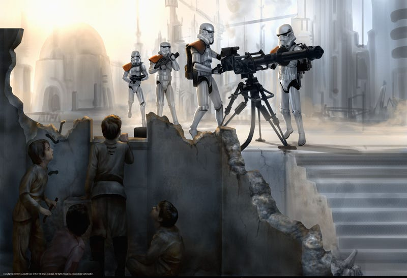 "Breathtaking Art that Puts the ""Wars"" in Star Wars"