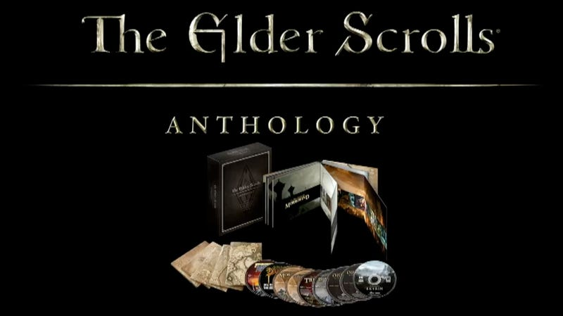 All The Elder Scrolls Games Ever Made, All In One Box