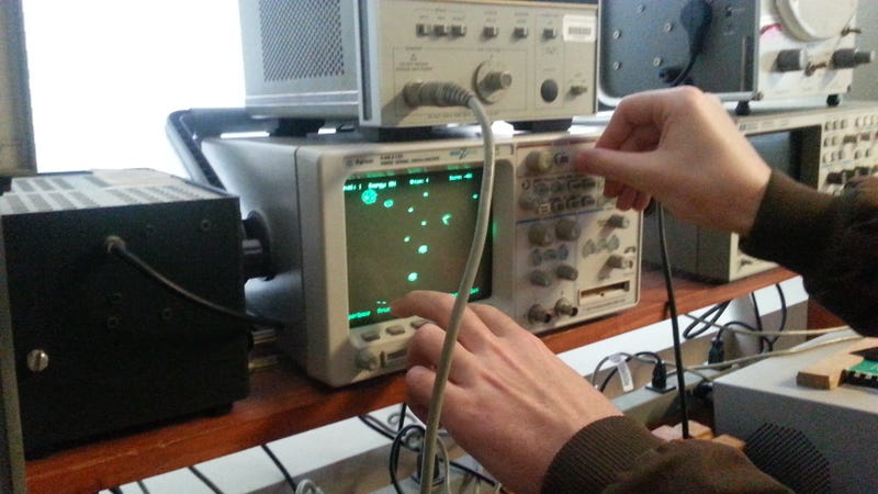 Here's How To Play Tetris And Asteroids On Lab Equipment