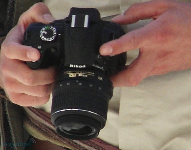 Nikon Entry-Level DSLR with Articulating Display Spyshots