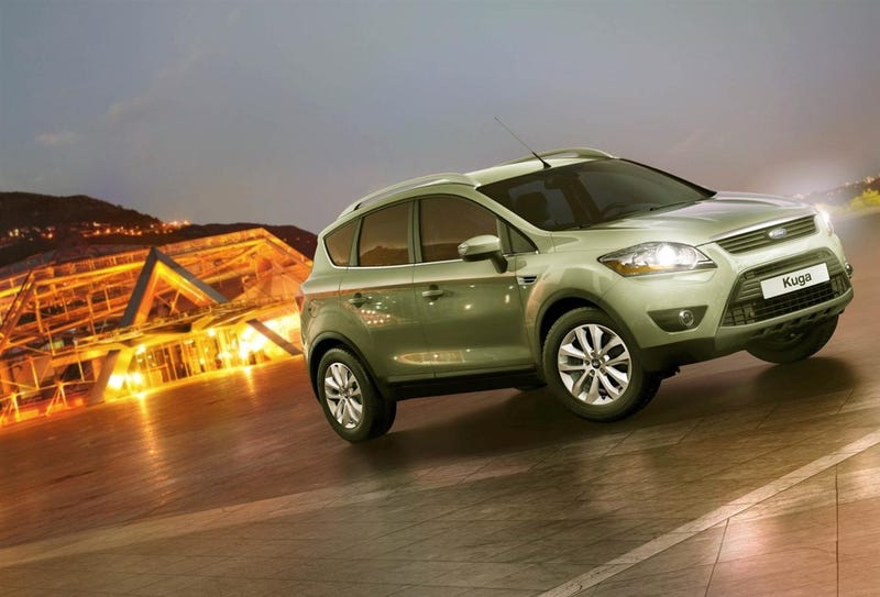 Ford Kuga Gets Fuel Sipper And Fuel Guzzler Options
