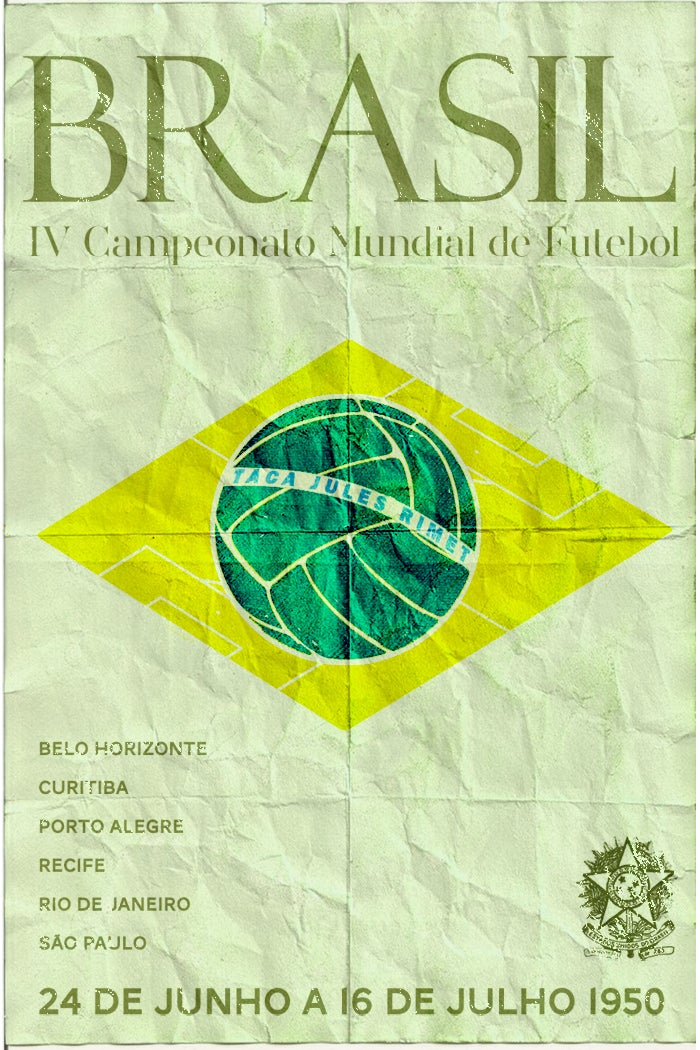 These Posters For Every World Cup Since 1930 Were Made By One Designer