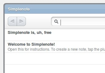 Simplenote Offers Synchronized Notes on iPhones—And Now It's Free