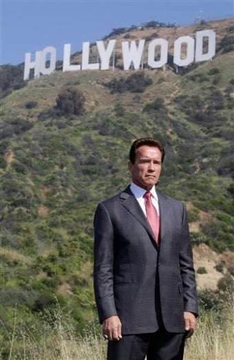 Hugh Hefner Saves the Hollywood Sign From Land Developer Terminators