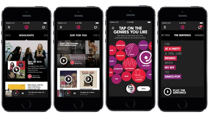 Beats Music Is Now Available