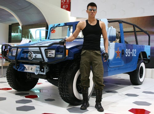 China's Hummer Ripoff Doesn't Ask, Doesn't Tell