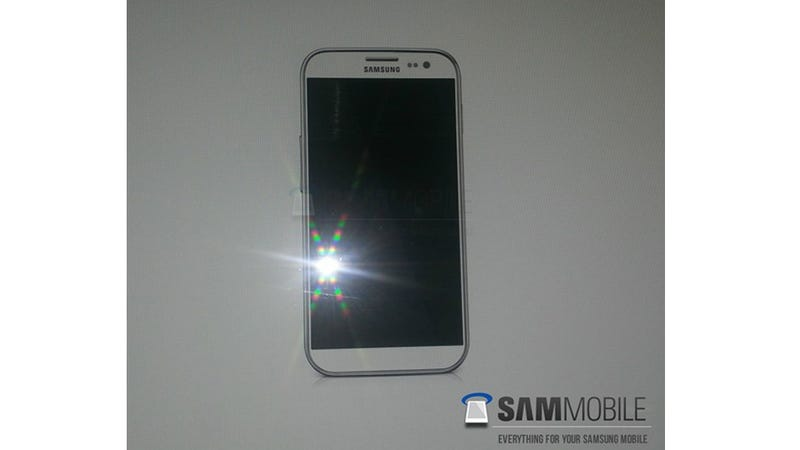 This Is Supposedly a Photo of a Photo of Samsung's Galaxy S IV