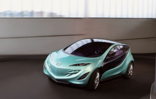 Mazda Kiyora Recycles Rain Water for Drinking