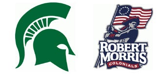 NCAA First Round: (2) Michigan State vs. (15) Robert Morris