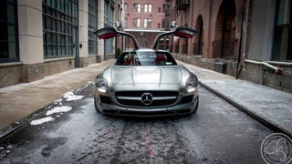 Wallpaper Wednesday: 2012 Mercedes-Benz SLS AMG