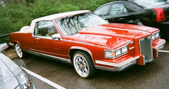 Our Lives Have Been Wasted: 1986 Cadillac DeVille Fleetwood Hot Tubamino