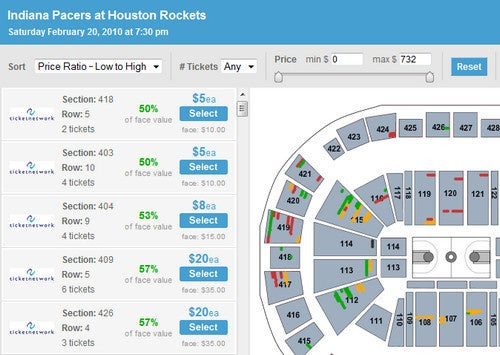 SeatGeek Indexes Stadium and Venue Seats to Bring You Best Values