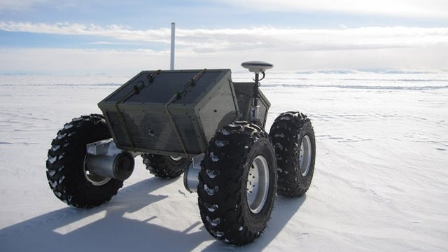 Battery-Powered Yeti Guides Antarctic Explorers Past Concealed Crevasses