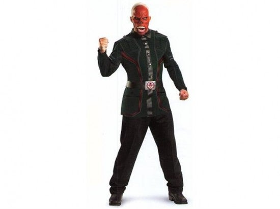 Red Skull Halloween Costume pic