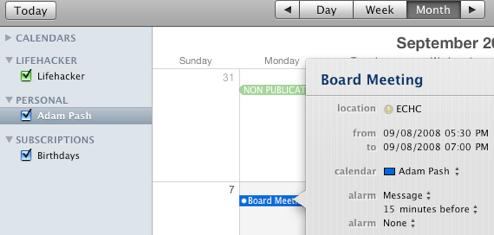 Five Best Calendar Applications