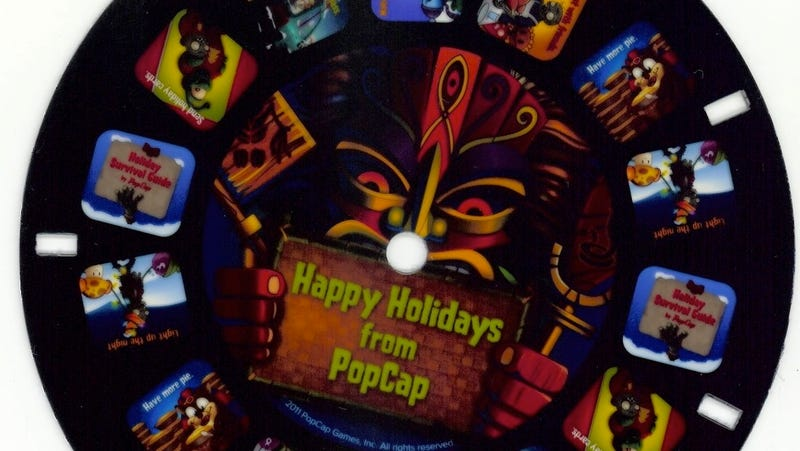 PopCap's Plants vs. Zombies X-Mas Package Teases Upcoming Popcorn Dragon Game