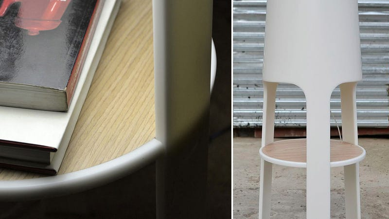 This Glowing Bedside Table Is Its Own Lamp