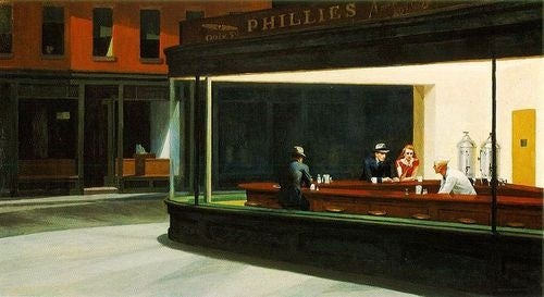 That Diner from Edward Hopper's Iconic 'Nighthawks'? It Never Existed