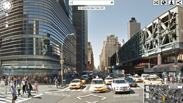 Instant Google Street View Immediately Transports You to Any Location