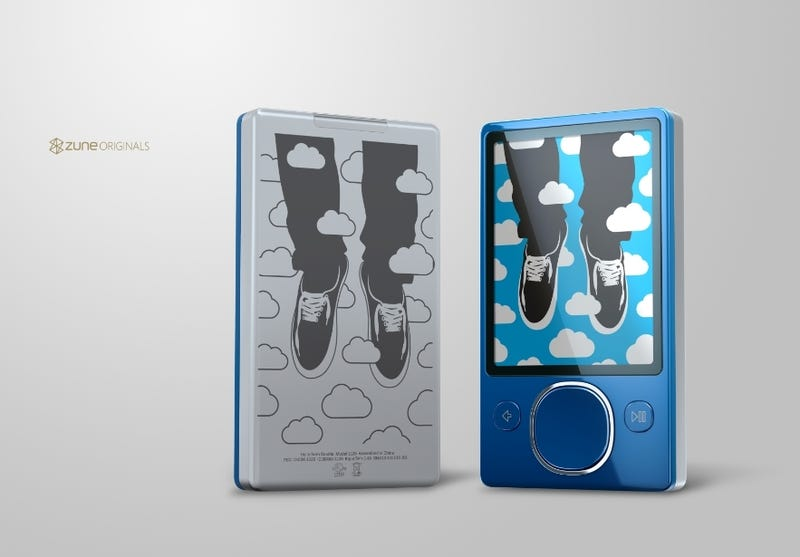Zune 120 Coming in Blue, Along with New Zune Originals Designs