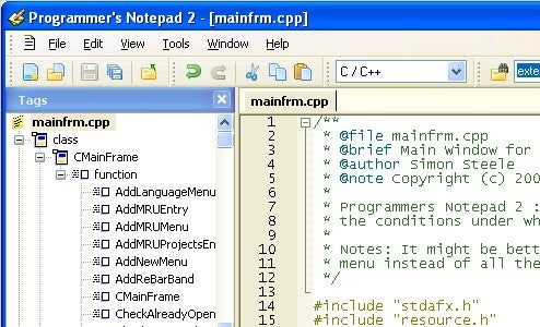 Programmer's Notepad 2 Helps You Code Wrangle
