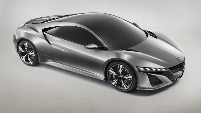 Your Ridiculously Cool Acura NSX Concept Wallpaper Is Here