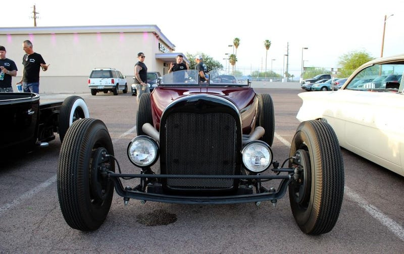 American Traditions, Hot Rods, and Horses; Desert blast in a 2013 Mustang
