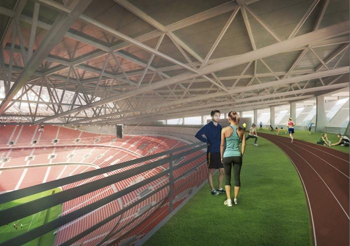 Egész jól fog kinézni az új Puskás Stadion
