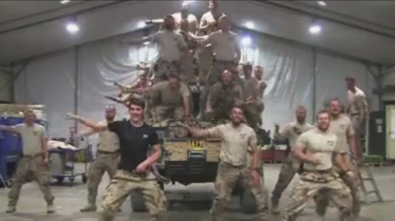 Very Bored Swedish Marines Parody Greased Lightning In Afghanistan