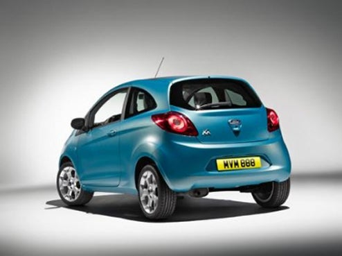 2009 Ford Ka Again Peeks Out From Under Embargo Blanket
