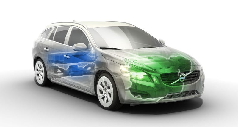 World's first plug-in diesel hybrid is a Volvo wagon