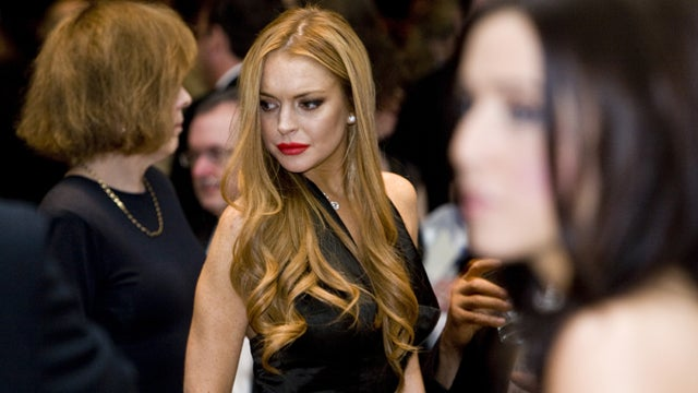 Lindsay Lohan Hospitalized After Car Crash
