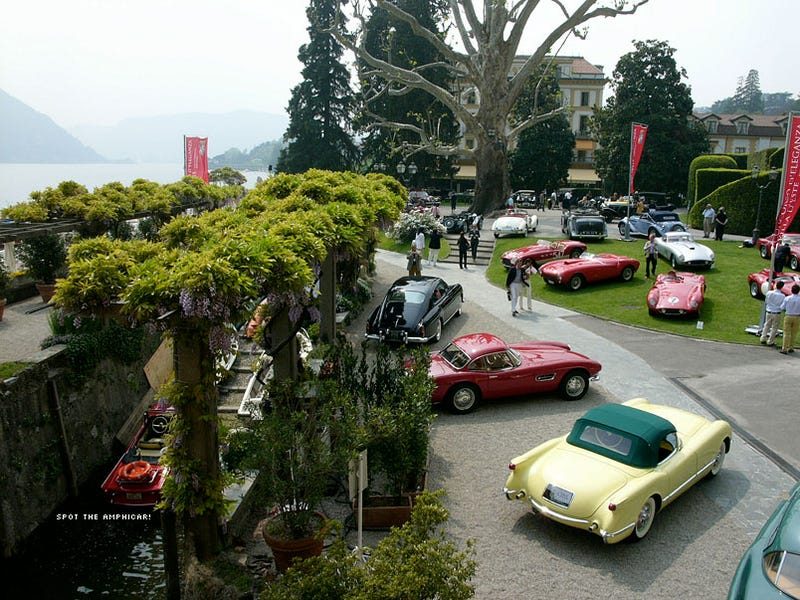 Google Street View Drives Along Lake Como on Wrong Day, Misses Concorso d'Eleganza