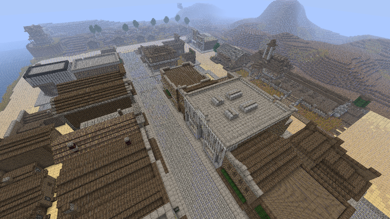 Here's Red Dead Redemption's Most Modern Town Re-Made in Minecraft