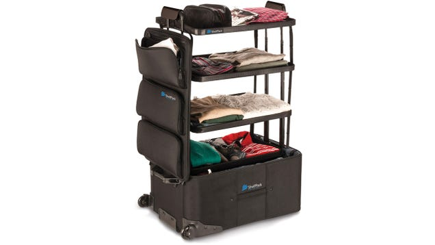 The Perfect Suitcase Transforms Into a Portable Dresser