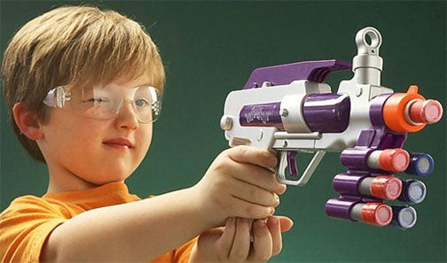 Chalk Guns Are Like Paintball Without the Paint, Tears, Or Point