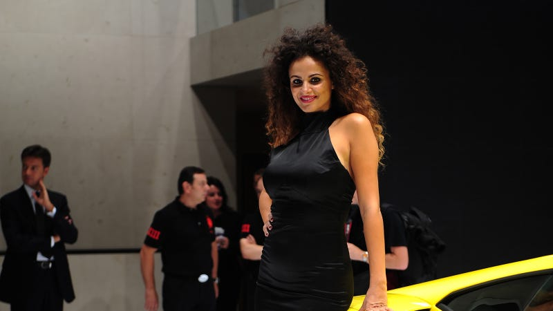 The Lovely Booth Professionals Of The 2012 Paris Motor Show