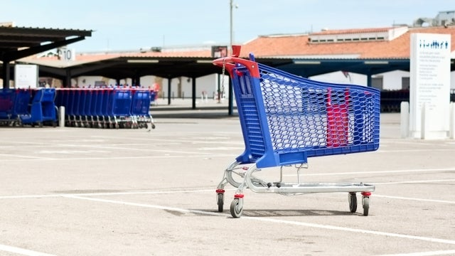 Grab Shopping Carts from the Parking Lot to Avoid Wobbly Wheels