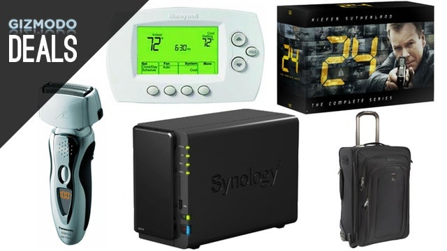 Electric Razor Gold Box, Synology NAS, Wi-Fi Thermostat, 24 Box Set