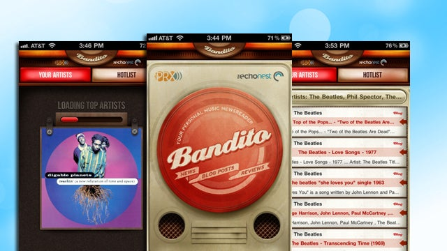 Bandito Offers Music News Using Songs in Your Library