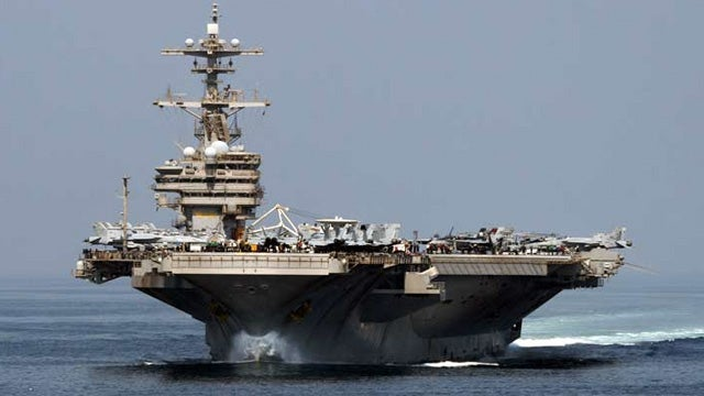 Toilet Trouble on Navy Carrier Leaves 5000 Sailors Doing the Pee Pee Dance