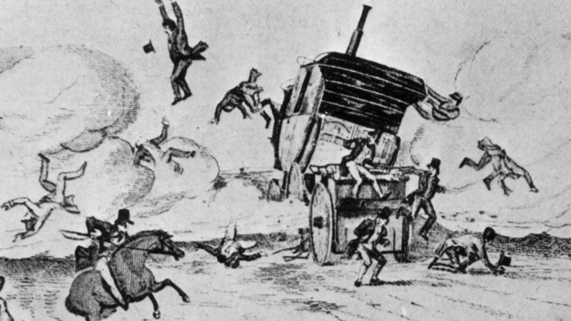 The First Fatal Car Accident In The World Was Earlier Than You Think