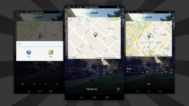 Valet Remembers Where You Parked, Even if You Forgot to Open the App
