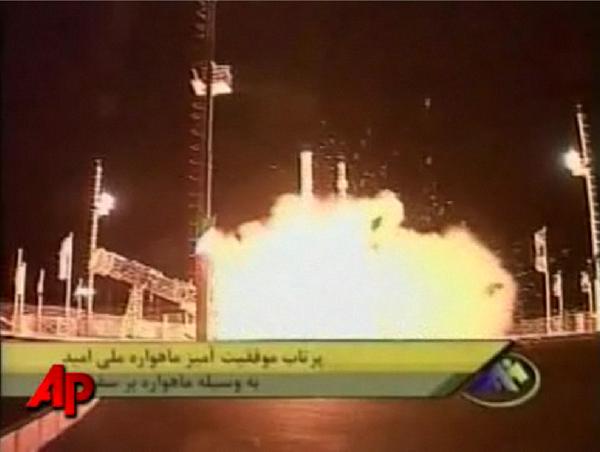 Iran Puts Its First Satellite Into Orbit