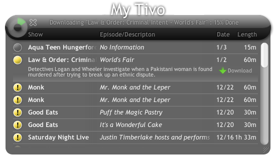 Now Playing: TiVo2Go For Series 3 on a Mac for Free