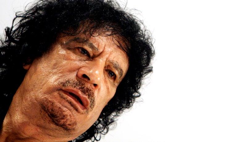 Muammar Qaddafi: A Photographic Retrospective