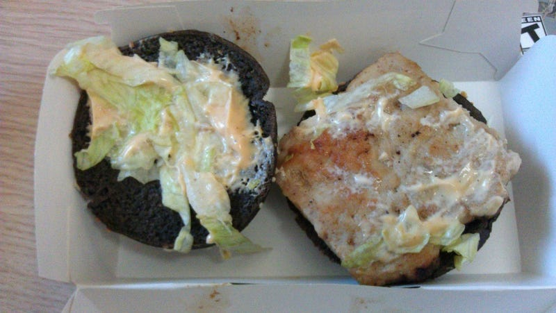 McDonald's Chinese Black and White Burgers Are... Okay, I Guess