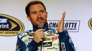 NASCAR Driver Brian Vickers Hates Watching Other People Drive His Car