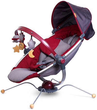 Combi iPod Bouncer is Going to Get Up and Walk Off With Your Baby